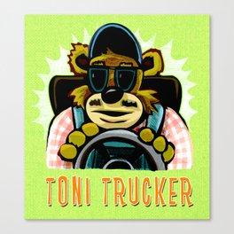 tony trucker Canvas Print