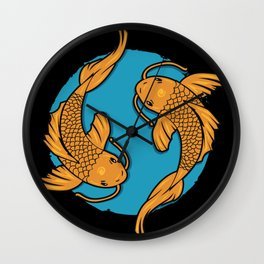 We're Just Two Lost Souls Swim In A Bowl Wall Clock