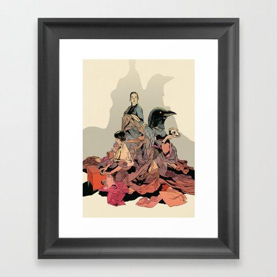 Seres queridos Framed Art Print