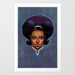 Captain Kacela Universal Ranger Art Print