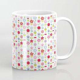 Flowers in a row Coffee Mug