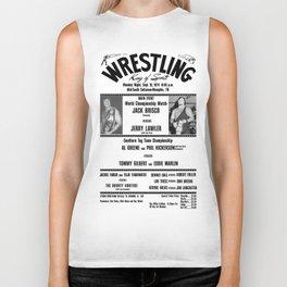 #1 Memphis Wrestling Window Card Biker Tank