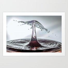 Water Mushroom 7721 Art Print