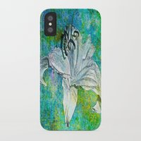 lily iPhone & iPod Cases featuring Lily by Saundra Myles