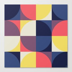 Quarters Quilt 1 Canvas Print