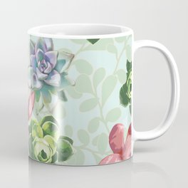 Spring Succulents Coffee Mug