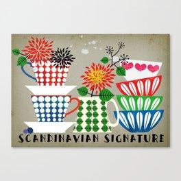 Scandinavian Signature Canvas Print