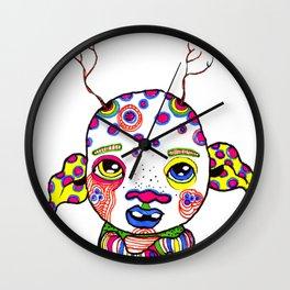 Marked Wall Clock
