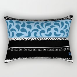 Traditional colors country Portugal Douro Litoral Rectangular Pillow
