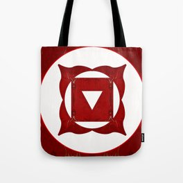 Go Deep Abstract Chakra Art  Tote Bag