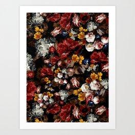 EXOTIC GARDEN - NIGHT XX Art Print