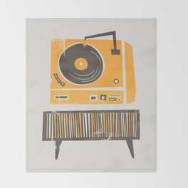 Vinyl Deck Throw Blanket