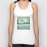 jack frost Tank Tops featuring Frost by SpaceFrogDesigns