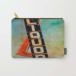 Vintage Liquor Sign Carry-All Pouch