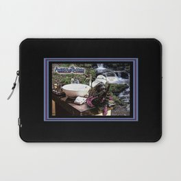 American Raccoon: Myths & Cleanliness Laptop Sleeve