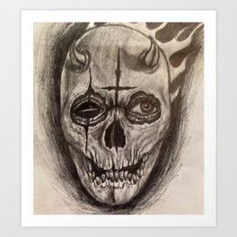 Sinful Death Art Print