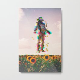 The Plain Traveller Metal Print
