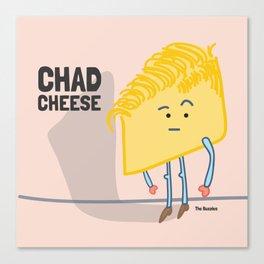 Chad Cheese Canvas Print