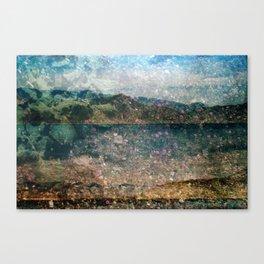MM 333 . Purple x Mountain Scapes Canvas Print