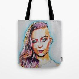 Natalie Dormer Tote Bag