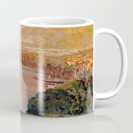 Italy Sorrento Bay of Naples vintage Italian travel Coffee Mug