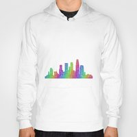 los angeles Hoodies featuring Los Angeles by David Zydd