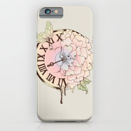 Il y a Beauté dans le Temps (There is Beauty in Time) iPhone Case