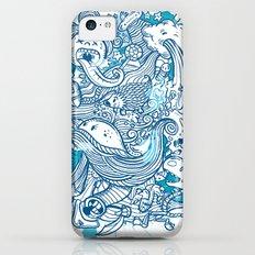 Random Doodle iPhone 5c Slim Case