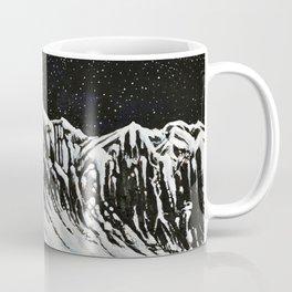 Starlit Cliffs Coffee Mug