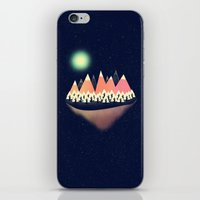 decal iPhone & iPod Skins featuring The Other Side by Zach Terrell
