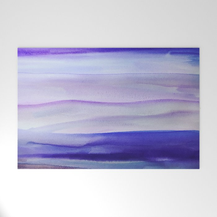 Purple Mountains' Majesty Welcome Mat