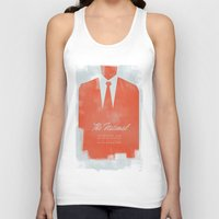 the national Tank Tops featuring The National  by Silent K Design