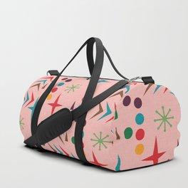 Atomic pattern mid century modern #homedecor Duffle Bag