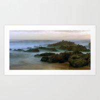 Mysterious sea... Art Print