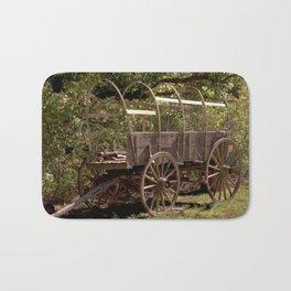 Uncovered Wagon Bath Mat
