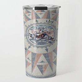 Rose of the winds, Lisbon Travel Mug