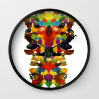 totem Wall Clocks featuring totem! by gasponce