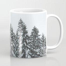 SNOWY TREETOPS Coffee Mug