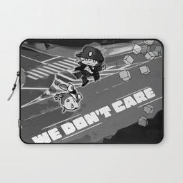 WE DON'T CARE Laptop Sleeve