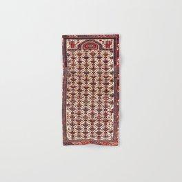 Shirvan East Caucasus Niche Rug Print Hand & Bath Towel