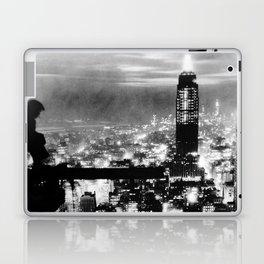 Late night construction in NYC Laptop & iPad Skin