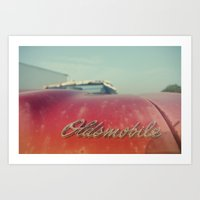 Oldsmobile Art Print