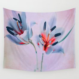 The flowers of my world Wall Tapestry