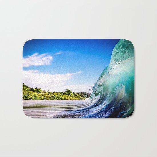 Wave Wall Bath Mat