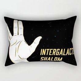 Intergalactic Shalom Rectangular Pillow