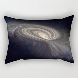 Feather Galaxy Rectangular Pillow