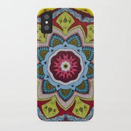 Blessing Mandala - מנדלה ברכה iPhone Case