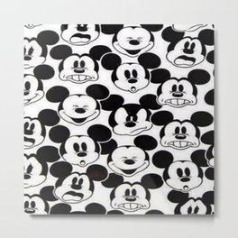 Mickey retrÒ Metal Print