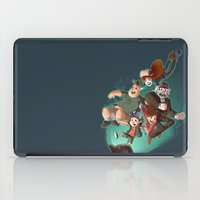 gravity falls iPad Cases featuring Gravity Falls - Embrace the Fall by animatenowsleeplater