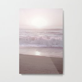 SUNSET HALFMOON BAY by MS Metal Print